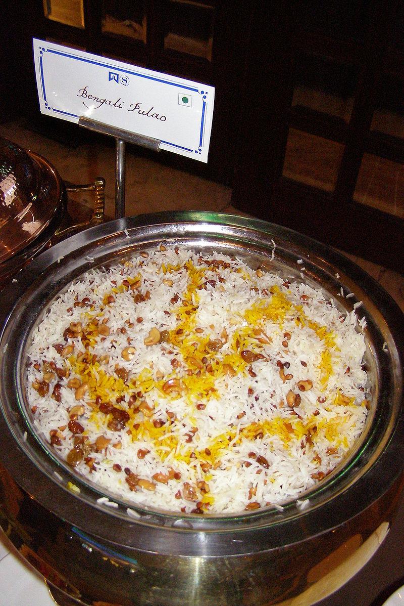 インド料理で有名な、ベンガル・プラーオ