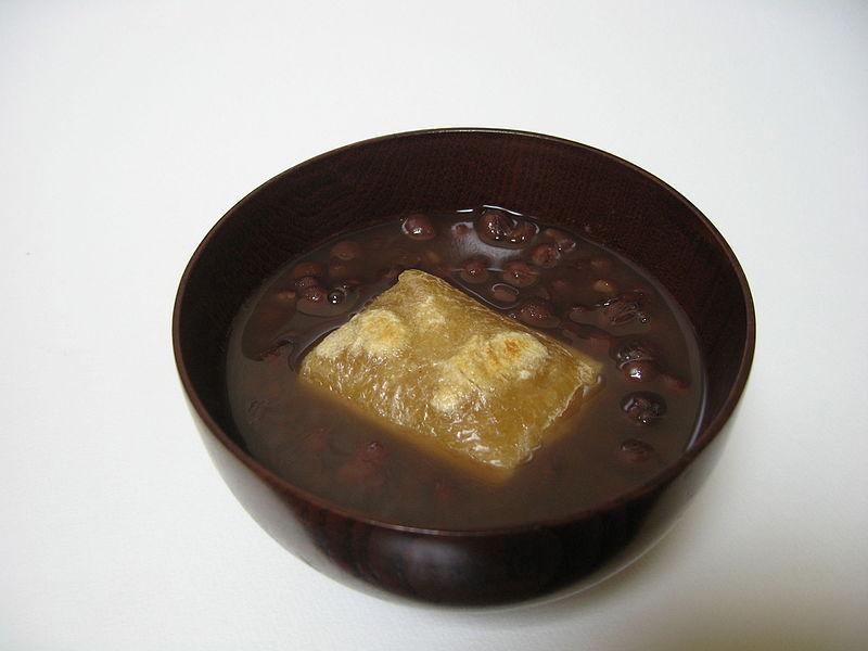 汁のあるぜんざい(関西)