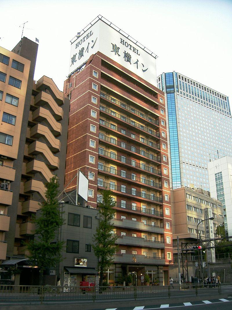 日本の普通のビジネスホテル、東横イン品川駅高輪口